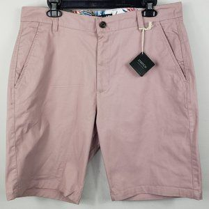 Free Planet Stretch Regular Shorts Sz 33 Pink NWT
